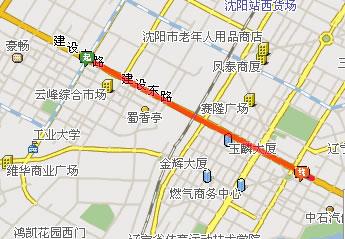 铁西广场乘车路线